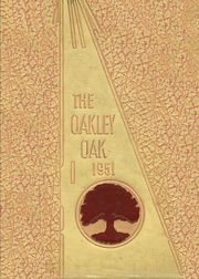 1951 Edition, Oakley High School - Oak Yearbook (Asheville, NC)