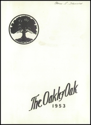 Page 5, 1953 Edition, Oakley High School - Oak Yearbook (Asheville, NC) online yearbook collection