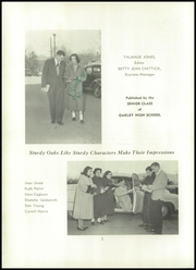 Page 6, 1953 Edition, Oakley High School - Oak Yearbook (Asheville, NC) online yearbook collection