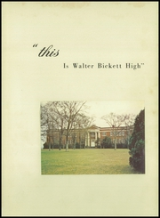 Page 5, 1958 Edition, Bickett High School - Rebel Yearbook (Monroe, NC) online yearbook collection