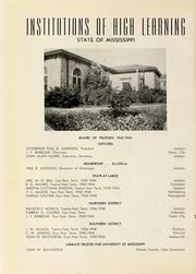 Page 12, 1943 Edition, Delta State University - Broom Yearbook (Cleveland, MS) online yearbook collection