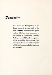 Page 10, 1950 Edition, Delta State University - Broom Yearbook (Cleveland, MS) online yearbook collection
