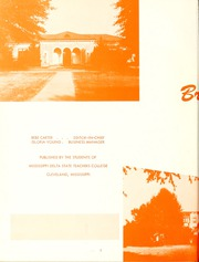 Page 6, 1955 Edition, Delta State University - Broom Yearbook (Cleveland, MS) online yearbook collection