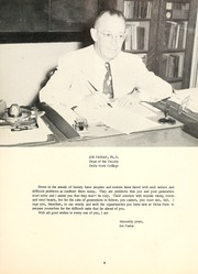 Page 13, 1957 Edition, Delta State University - Broom Yearbook (Cleveland, MS) online yearbook collection