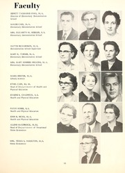Page 15, 1957 Edition, Delta State University - Broom Yearbook (Cleveland, MS) online yearbook collection