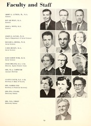 Page 17, 1957 Edition, Delta State University - Broom Yearbook (Cleveland, MS) online yearbook collection