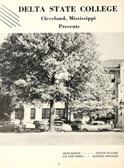 Page 6, 1957 Edition, Delta State University - Broom Yearbook (Cleveland, MS) online yearbook collection