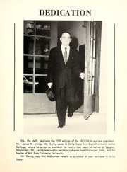 Page 9, 1957 Edition, Delta State University - Broom Yearbook (Cleveland, MS) online yearbook collection