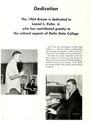 Page 8, 1964 Edition, Delta State University - Broom Yearbook (Cleveland, MS) online yearbook collection