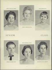 Page 16, 1959 Edition, Colfax High School - Echoes Yearbook (Colfax, NC) online yearbook collection