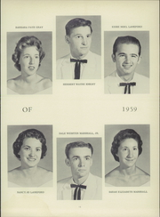 Page 17, 1959 Edition, Colfax High School - Echoes Yearbook (Colfax, NC) online yearbook collection