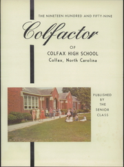 Page 5, 1959 Edition, Colfax High School - Echoes Yearbook (Colfax, NC) online yearbook collection