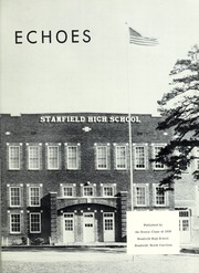 Page 5, 1959 Edition, Stanfield High School - Echoes Yearbook (Stanfield, NC) online yearbook collection