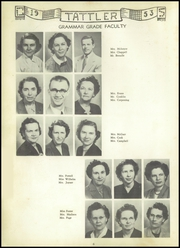 Page 10, 1953 Edition, Cool Spring High School - Tattler Yearbook (Cleveland, NC) online yearbook collection
