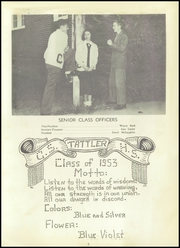 Page 11, 1953 Edition, Cool Spring High School - Tattler Yearbook (Cleveland, NC) online yearbook collection