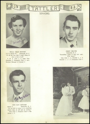 Page 14, 1953 Edition, Cool Spring High School - Tattler Yearbook (Cleveland, NC) online yearbook collection