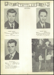 Page 16, 1953 Edition, Cool Spring High School - Tattler Yearbook (Cleveland, NC) online yearbook collection