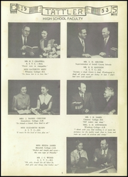 Page 9, 1953 Edition, Cool Spring High School - Tattler Yearbook (Cleveland, NC) online yearbook collection
