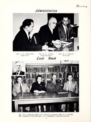 Page 8, 1953 Edition, Pleasant Grove High School - Amo Ena Yearbook (Burlington, NC) online yearbook collection