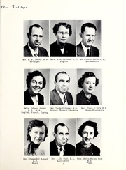 Page 9, 1953 Edition, Pleasant Grove High School - Amo Ena Yearbook (Burlington, NC) online yearbook collection
