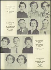 Page 11, 1956 Edition, Lewisville High School - La Ha Sa Yearbook (Lewisville, NC) online yearbook collection