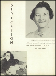 Page 8, 1956 Edition, Lewisville High School - La Ha Sa Yearbook (Lewisville, NC) online yearbook collection