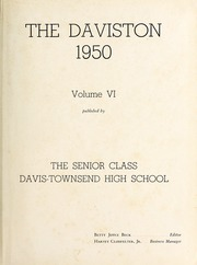 Page 5, 1950 Edition, Davis Townsend High School - Daviston Yearbook (Lexington, NC) online yearbook collection