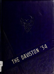 Page 1, 1954 Edition, Davis Townsend High School - Daviston Yearbook (Lexington, NC) online yearbook collection