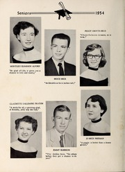 Page 12, 1954 Edition, Davis Townsend High School - Daviston Yearbook (Lexington, NC) online yearbook collection