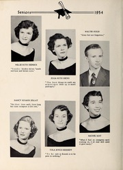 Page 14, 1954 Edition, Davis Townsend High School - Daviston Yearbook (Lexington, NC) online yearbook collection