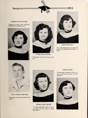 Page 15, 1954 Edition, Davis Townsend High School - Daviston Yearbook (Lexington, NC) online yearbook collection