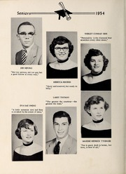 Page 16, 1954 Edition, Davis Townsend High School - Daviston Yearbook (Lexington, NC) online yearbook collection