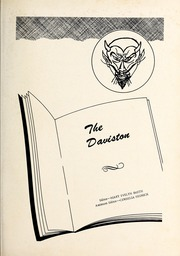 Page 5, 1955 Edition, Davis Townsend High School - Daviston Yearbook (Lexington, NC) online yearbook collection