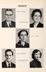Page 10, 1956 Edition, Davis Townsend High School - Daviston Yearbook (Lexington, NC) online yearbook collection