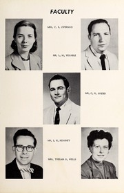 Page 11, 1956 Edition, Davis Townsend High School - Daviston Yearbook (Lexington, NC) online yearbook collection