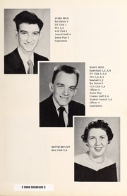 Page 15, 1956 Edition, Davis Townsend High School - Daviston Yearbook (Lexington, NC) online yearbook collection