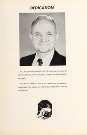 Page 7, 1956 Edition, Davis Townsend High School - Daviston Yearbook (Lexington, NC) online yearbook collection