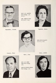 Page 12, 1957 Edition, Davis Townsend High School - Daviston Yearbook (Lexington, NC) online yearbook collection