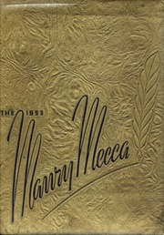 Page 1, 1953 Edition, Maury High School - Mecca Yearbook (Maury, NC) online yearbook collection