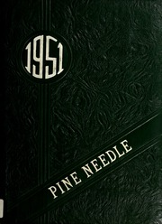 1951 Edition, Pine Level High School - Pine Needle Yearbook (Pine Level, NC)