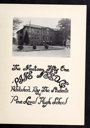 Page 5, 1951 Edition, Pine Level High School - Pine Needle Yearbook (Pine Level, NC) online yearbook collection