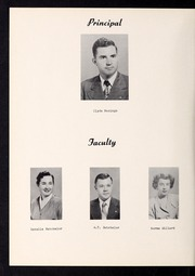 Page 8, 1951 Edition, Pine Level High School - Pine Needle Yearbook (Pine Level, NC) online yearbook collection