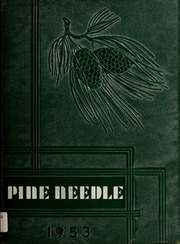 1953 Edition, Pine Level High School - Pine Needle Yearbook (Pine Level, NC)