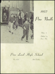 Page 5, 1957 Edition, Pine Level High School - Pine Needle Yearbook (Pine Level, NC) online yearbook collection