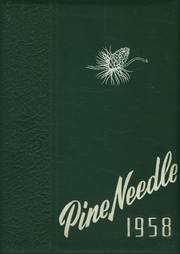 Page 1, 1958 Edition, Pine Level High School - Pine Needle Yearbook (Pine Level, NC) online yearbook collection