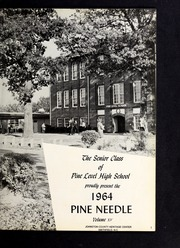 Page 5, 1964 Edition, Pine Level High School - Pine Needle Yearbook (Pine Level, NC) online yearbook collection
