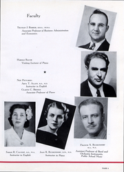 Page 10, 1945 Edition, Trinity University - Mirage Yearbook (San Antonio, TX) online yearbook collection