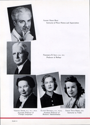 Page 13, 1945 Edition, Trinity University - Mirage Yearbook (San Antonio, TX) online yearbook collection