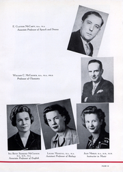 Page 14, 1945 Edition, Trinity University - Mirage Yearbook (San Antonio, TX) online yearbook collection