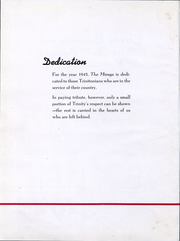 Page 3, 1945 Edition, Trinity University - Mirage Yearbook (San Antonio, TX) online yearbook collection